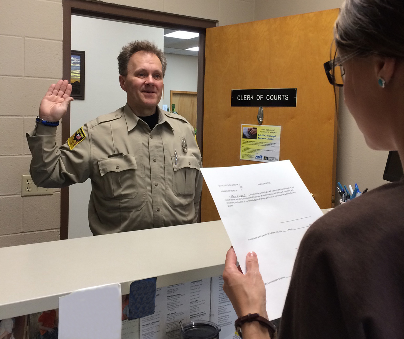 Haugen will serve as Jackson County Sheriff | Pioneer Review