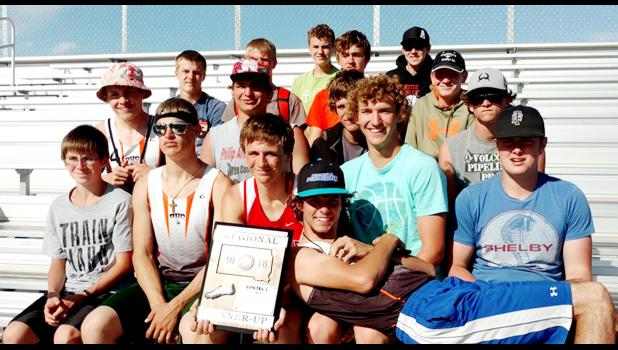 The Philip Scotties 2016 men's track & field team.