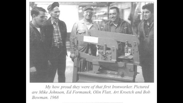 1968 – Scotchman's first ironworker