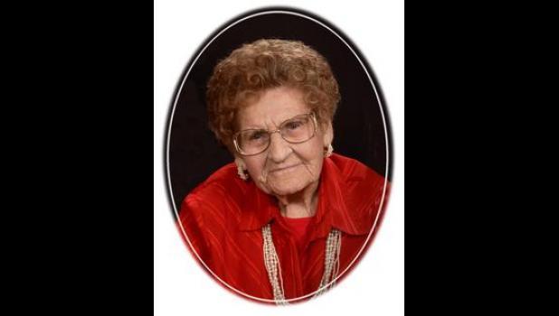 """Edith Carol """"Fuller"""" Meland, age 98"""