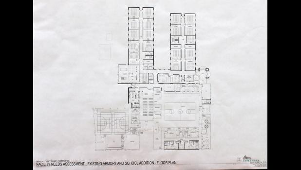 Proposed plans for Philip school