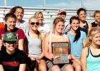 The Philip Scotties 2016 women's track & field team.