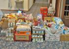 Donations to Country Cupboard food pantry