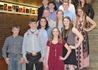 Students and advisor from Wall High School who attended the SDSCA State Convention included the following: Ronda Wilson, Advisor, Savana Johnston, Carter Elshere, Cass Lytle, Sierra Wilson, , Cash Wilson, Shelby Ruland, Cooper Jo McLaughlin, Bradan McDonnell, Andrew Law, Samantha Deutscher, Abby Moon, Tack Tines, Jenna Elshere, Malcom Heathershaw, Kohl Sandal