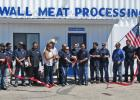 Celebration, gratitude, branding irons and fantastic food all played a part in the Wall Meat Processing Plant Grand Re-Opening.